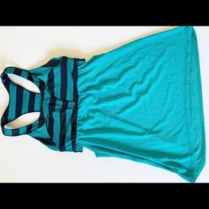 Lululemon 2-In-Run Racerback Tank Top size 4